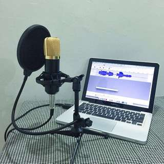 Condenser Microphone for Home Recording