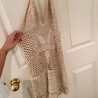 Wild Orchid Crochet Dress