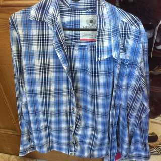 Henley MENS Button Up Size M