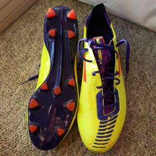 Adidas F50 Traxion Football Boots Size US10.5