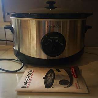 Kambrook Slow Cooker , Used Twice .
