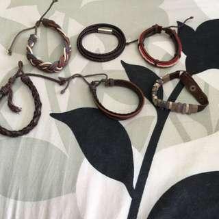 Leather Bracelet For Sale!!