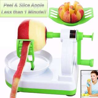 ★★Latest Apple Skin Peeler & Cutter Machine ★★ Peel & Cut Apple In less than 1 Minute ★★ Remove all toxic chemical or wax to live a healtier life  ★★
