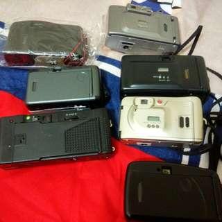 七台底片式相機 都正常保存良好 七台349出清