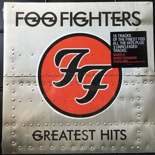 Foo Fighters- Greatest Hits. Vinyl Lp. New