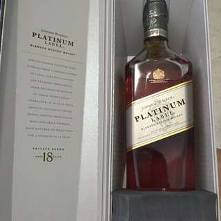Platinum Label 18 Years Private Blend 1L