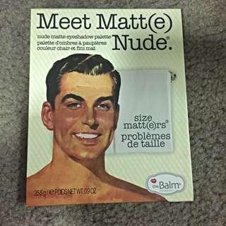 The Balm Meet Matt Eyeshadow