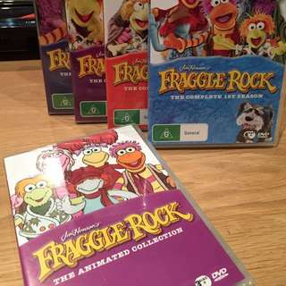 Fraggle Rock Collectors Edition Box Set