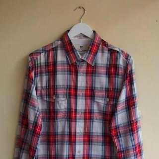 Salt N Pepper Plaid Shirt