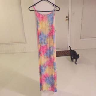 Her Pony Maxi Tie Dye Dress 10