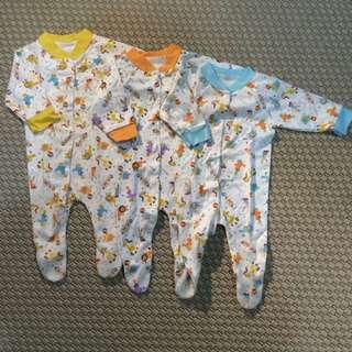 Velvet Newborn Sleepsuits