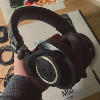 AudioTechnica M50X Limited Green/Brown