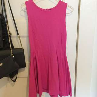 Zara Basic Skater Dress