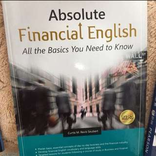 🚚 🐹Absolute Financial English