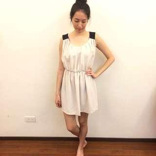 氣質可愛顯瘦短洋裝