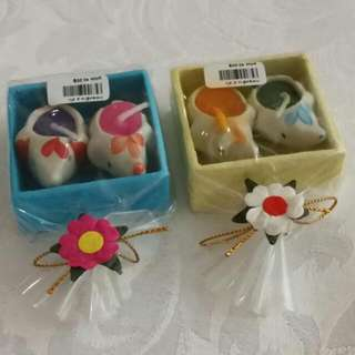 2x Gift Pack Mini Elephant Candles