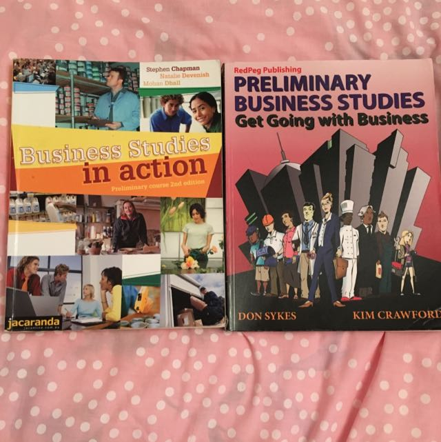 2x Yr11 Business Studies Textbooks