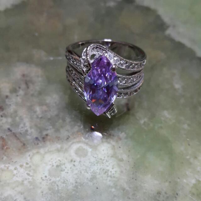 水晶寶石戒指