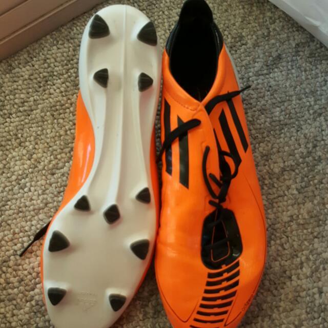 Adidas F50 Traxion Football Boots US 10.5