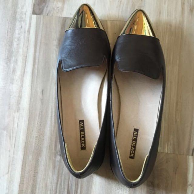 All black 鞋