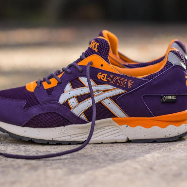 Asics Gel Lyte V GoreTex Purple Orange US9.5 28a48130a882