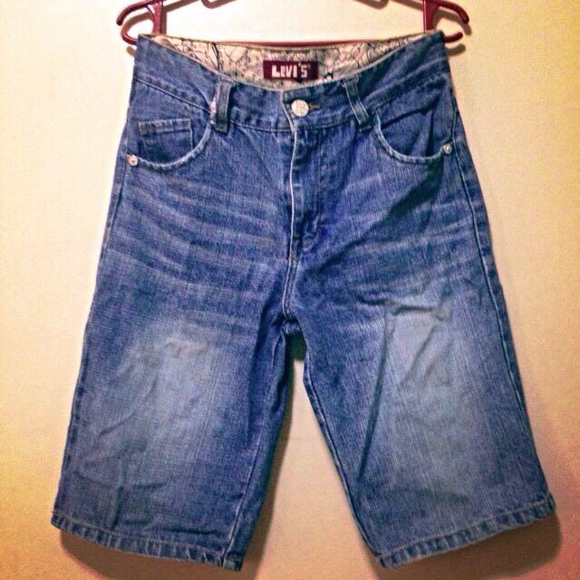 RESERVED Authentic Levi's Denim Shorts