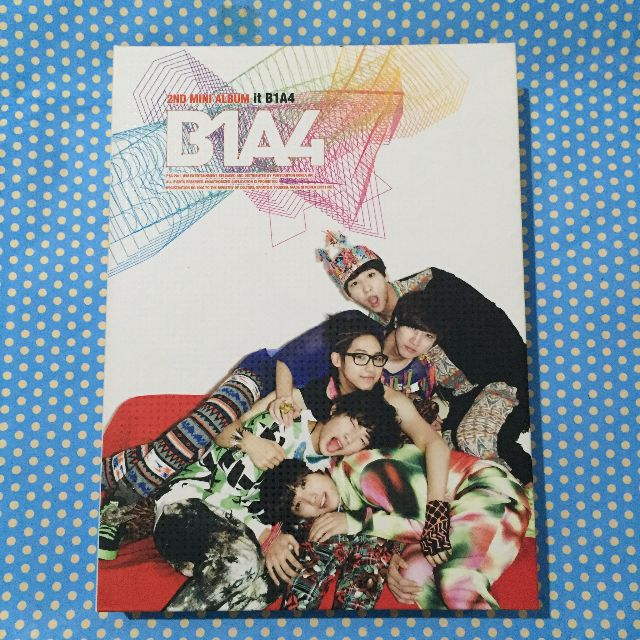 B1A4 - 2nd Mini Album It B1A4