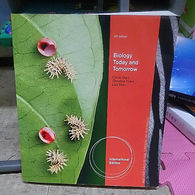 Biology Today And Tomorrow(4th Edition)