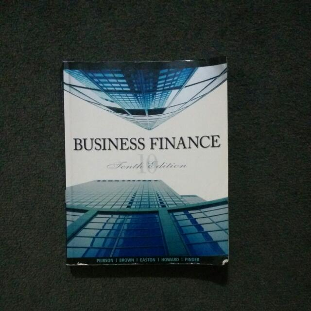Business Finance 10th Edition