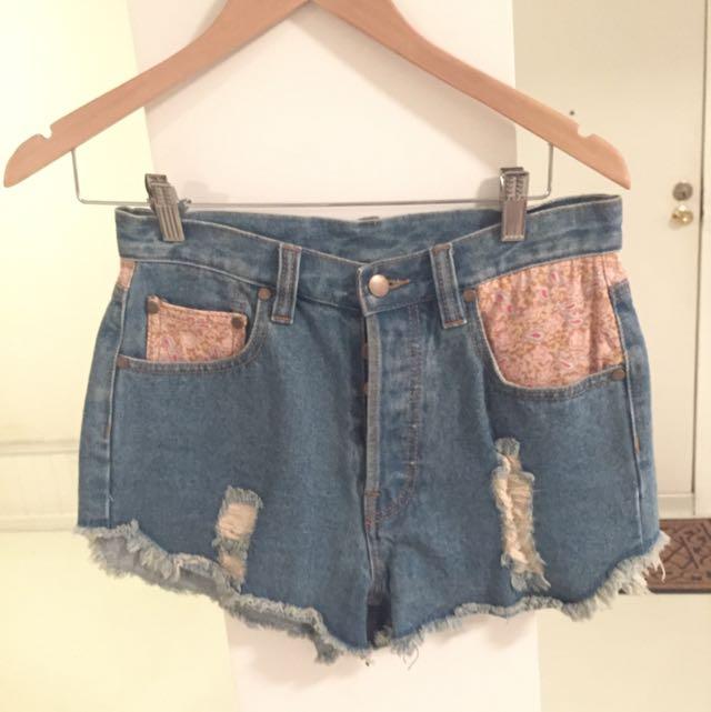 Denim Shorts 12 Loverbird