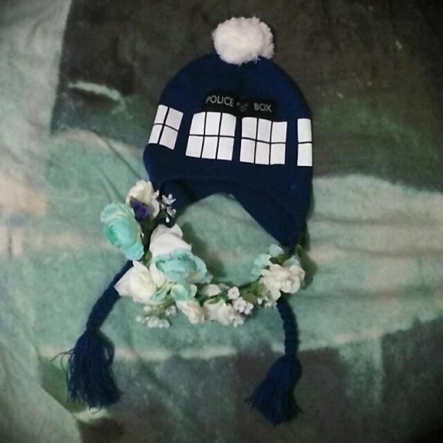 Doctor Who Tardis Beanie