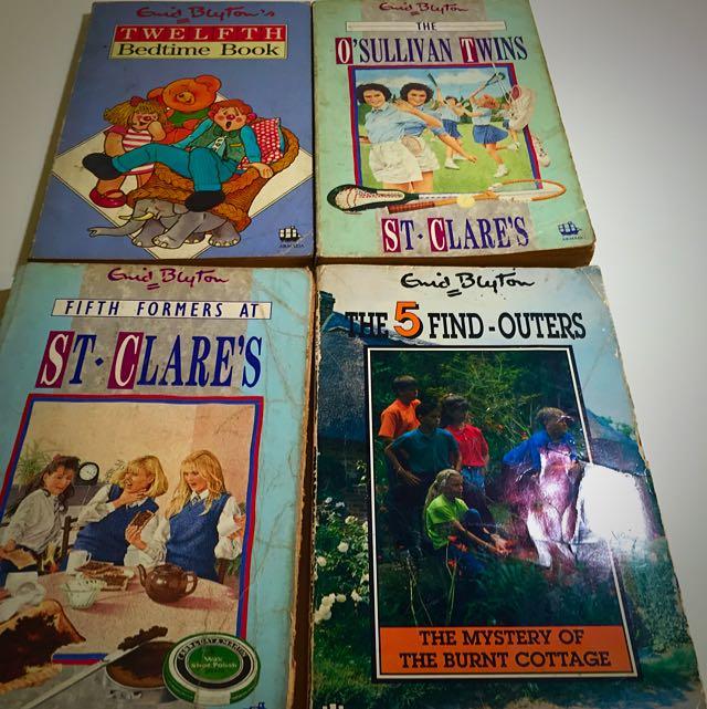 Enid Blyton Vintage Storybook Collection