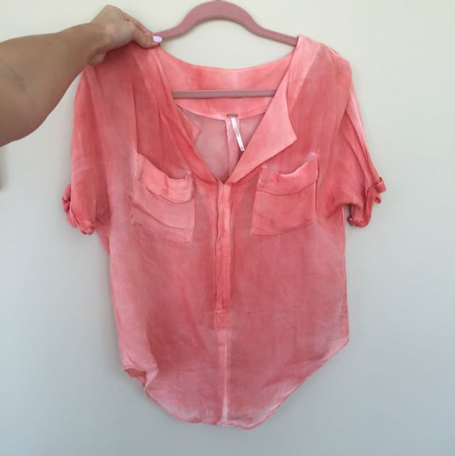 Free People Summer Blouse