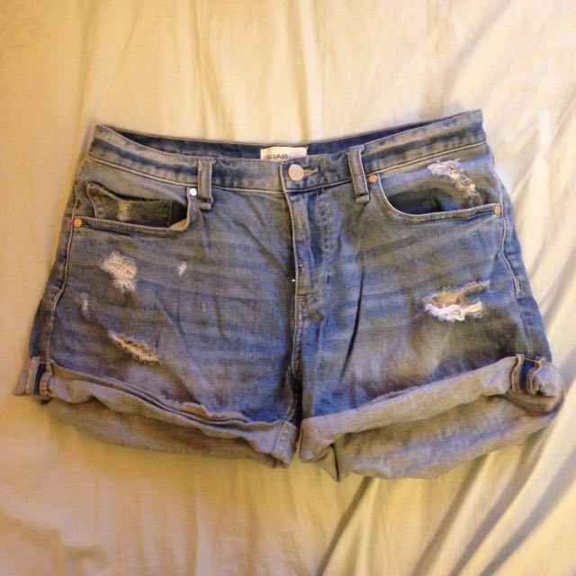 Grab Denim Shorta