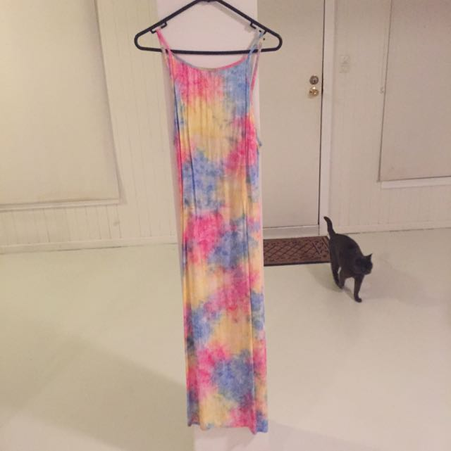 Her Pony Maxi Tie Dye Dress 10