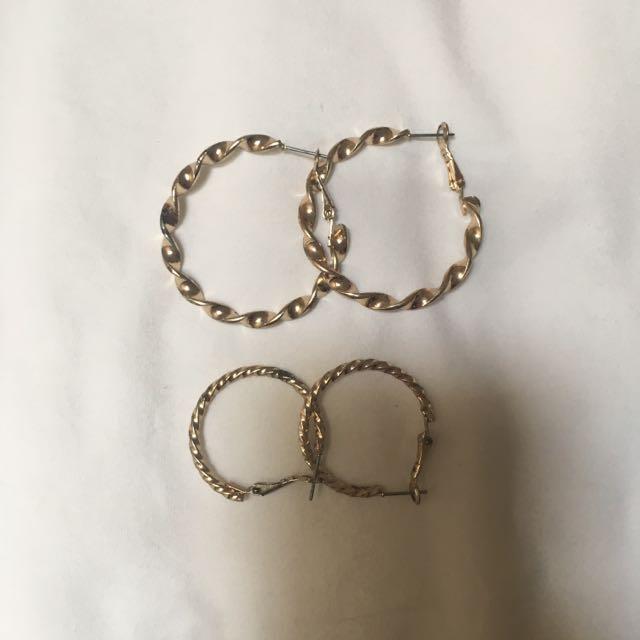 Hoop Earrings Forever21