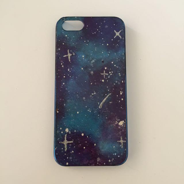 iPhone 5 Handmade Galaxy Case