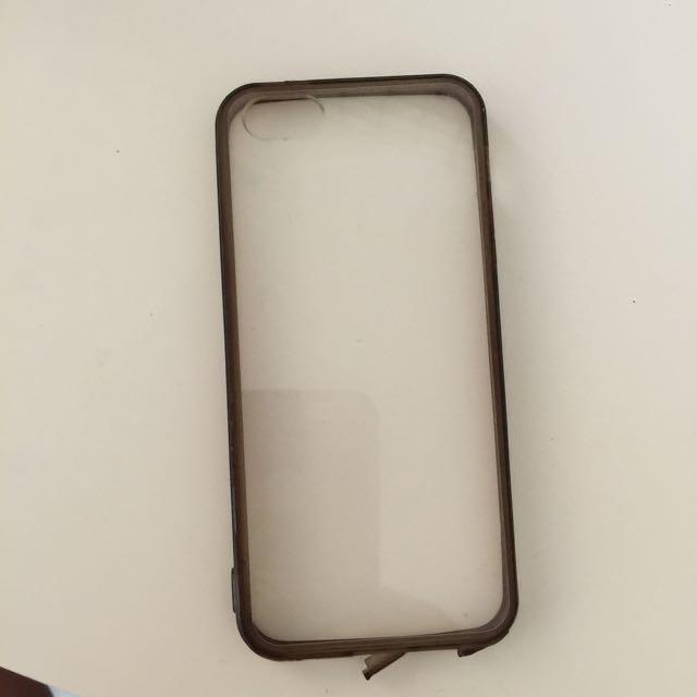 iPhone 5 Transparent Hardcase + Bumper
