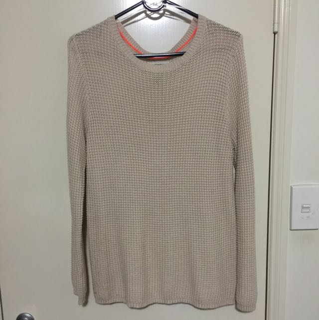 Nude Knitted Jumper