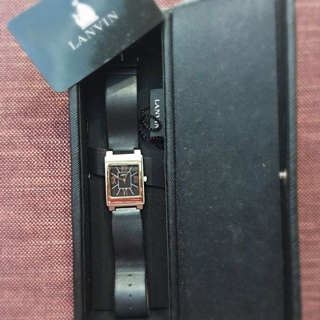French Lanvin Men's Dress Watch