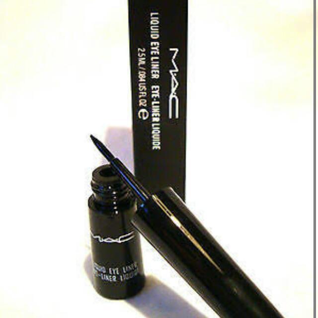 MAC Liquid Eyeliner - Boot Black