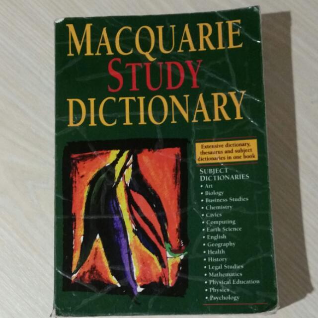 Macquarie Study Dictionary