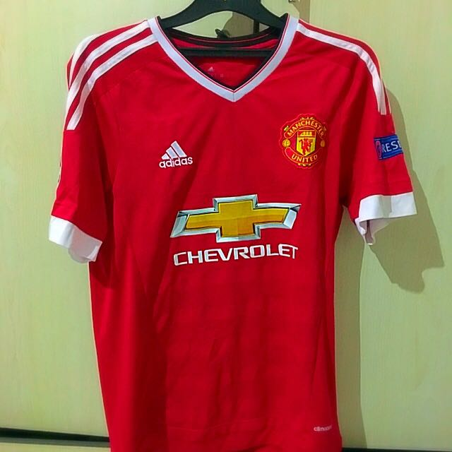 manchester united jersey (champions league) (memphis depay)