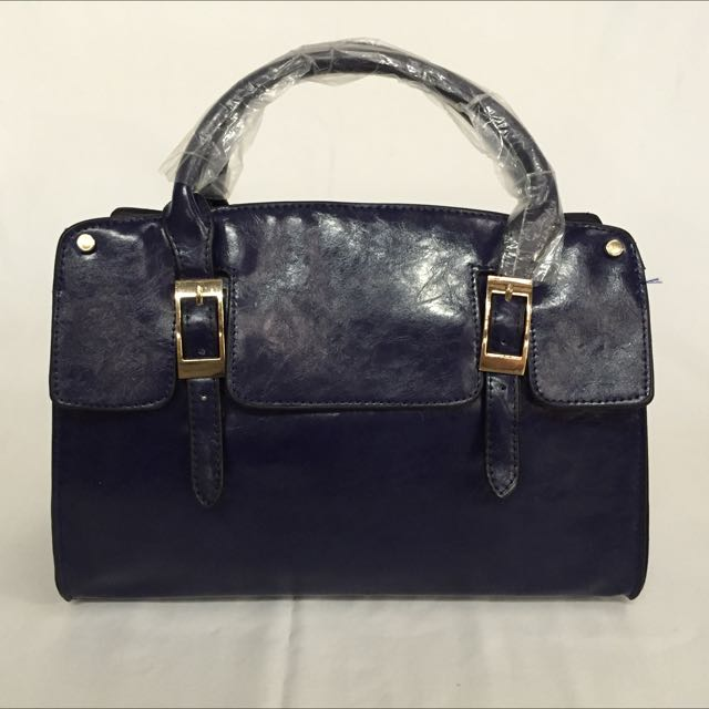 Navy Blue Brand New Hand Bag