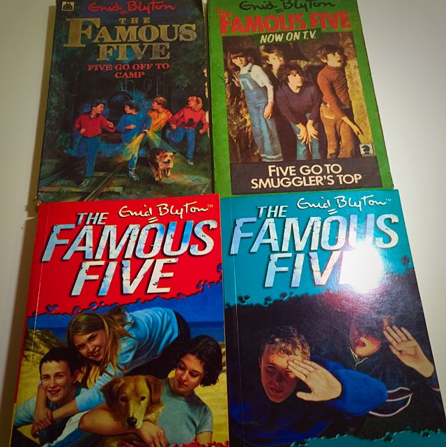 New And Vintage Collection Famous 5 Books