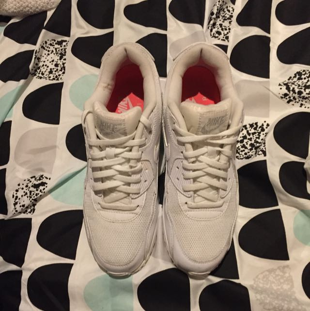 Nike Air Max 90 White 9.5 Women's