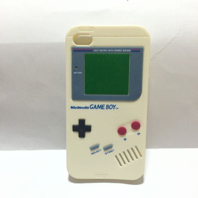 Preloved used iPhone 4 cover case - cute retro Nintendo Game