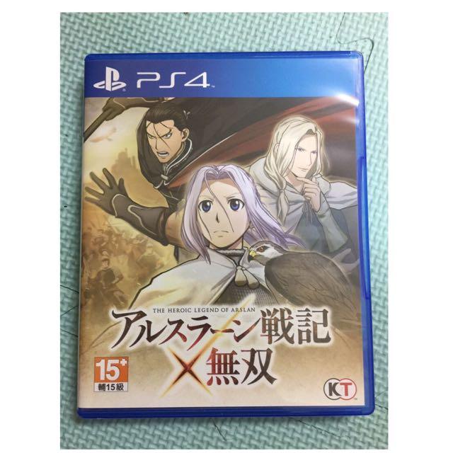 PS4 亞爾斯蘭戰記 X 無雙 日文版遊戲片