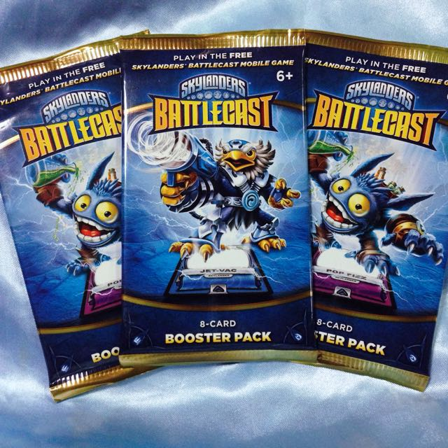 Skylanders Battlecast Booster Packs