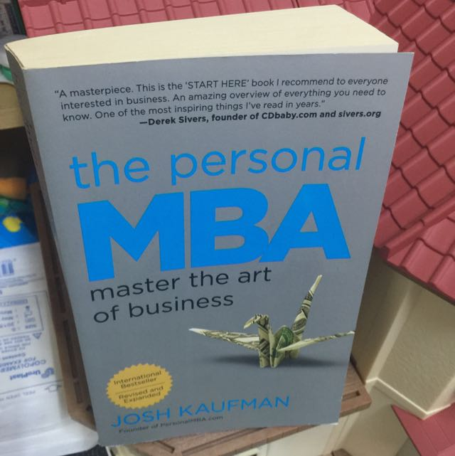 THE PERSONAL MBA BY JOSH KAUFMAN, Books & Stationery on